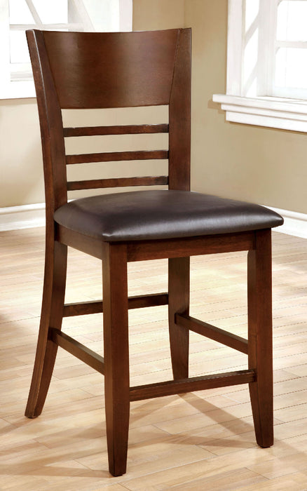 Hillsview I Brown Cherry Counter Ht. Chair (2/CTN) - Canales Furniture