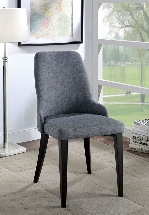 Marge Gray Side Chair (2/CTN) - Canales Furniture