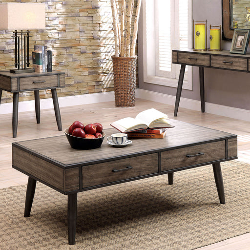 Vilhelm II Gray Coffee Table - Canales Furniture
