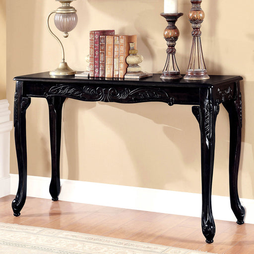 Cheshire Black Sofa Table - Canales Furniture