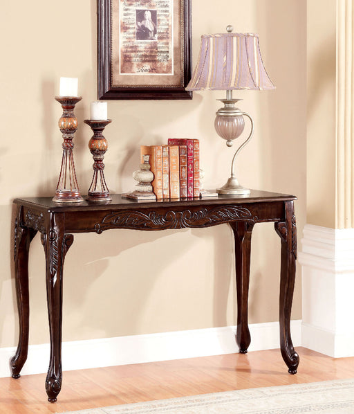 Cheshire Dark Cherry Sofa Table - Canales Furniture