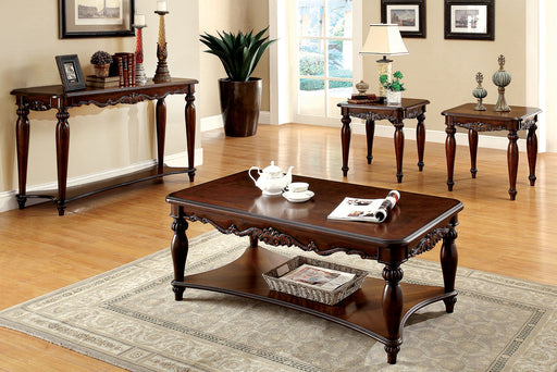 Bunbury Cherry 3 Pc. Coffee Table Set - Canales Furniture