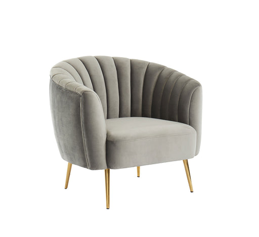 Dionne Gray Chair, Gray - Canales Furniture