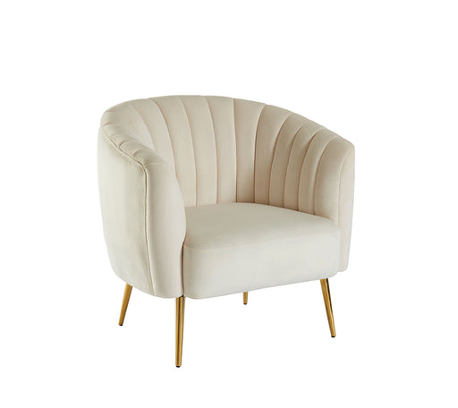 Dionne Ivory Chair, Ivory - Canales Furniture
