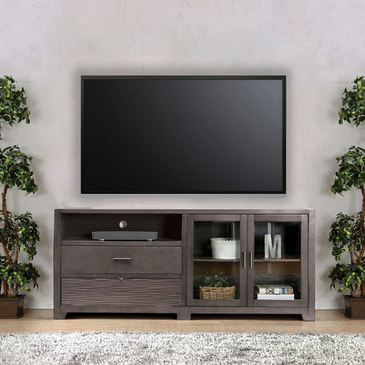 Tienen Gray TV Stand - Canales Furniture