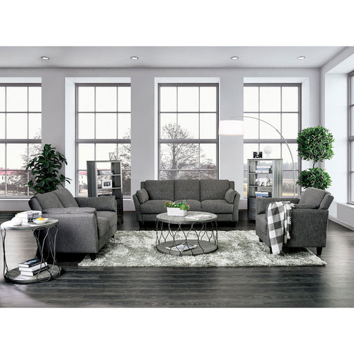 Yazmin Gray Sofa + Love Seat - Canales Furniture