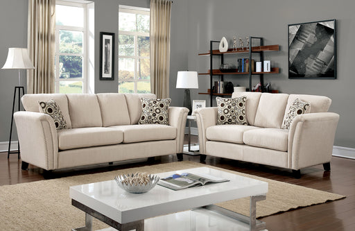 CAMPBELL Ivory Sofa + Love Seat - Canales Furniture