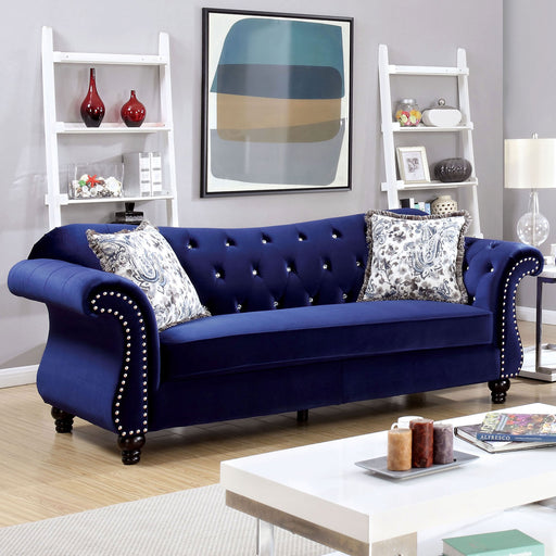 JOLANDA Blue Sofa - Canales Furniture