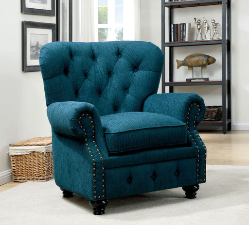 STANFORD Dark Teal Chair, Dark Teal - Canales Furniture