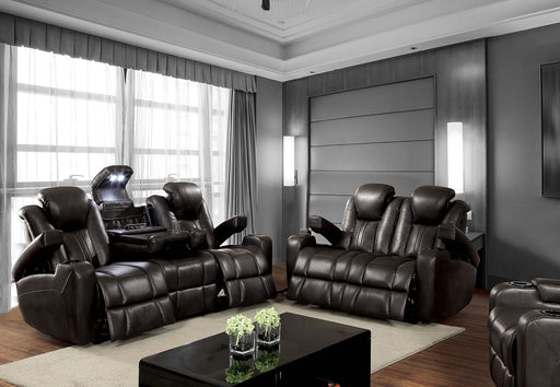 ZAURAK Dark Gray Sofa + Love Seat - Canales Furniture