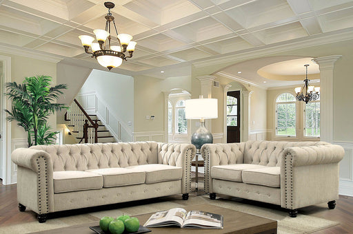 Winifred Ivory Sofa + Love Seat - Canales Furniture