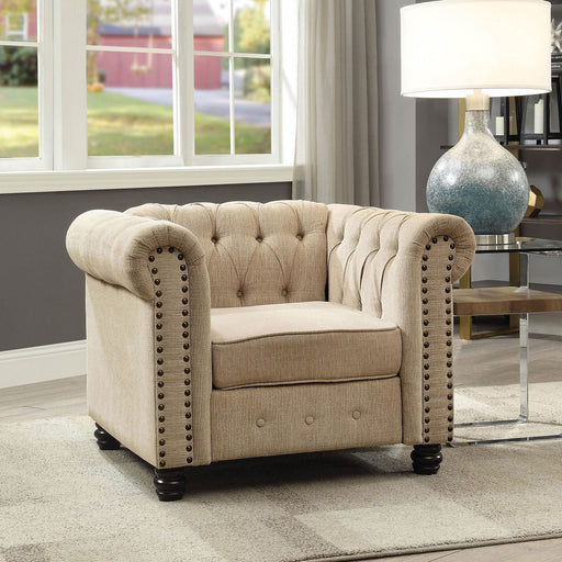 Winifred Ivory Chair - Canales Furniture