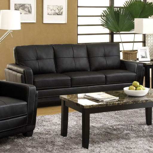 Blacksburg Black Sofa - Canales Furniture
