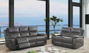 Lila Gray Sofa + Love Seat - Canales Furniture