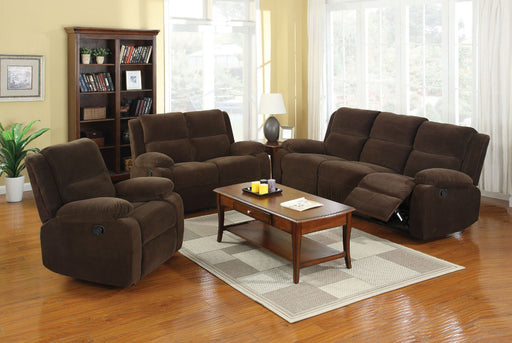 Haven Dark Brown Sofa + Love Seat - Canales Furniture