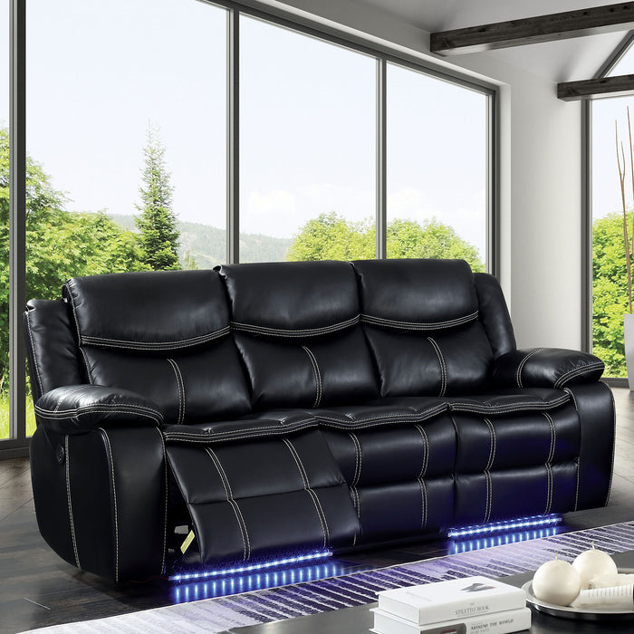 Sirius Black Sofa - Canales Furniture