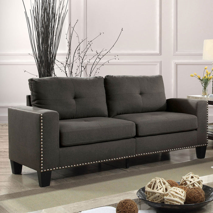 Attwell Gray Sofa - Canales Furniture
