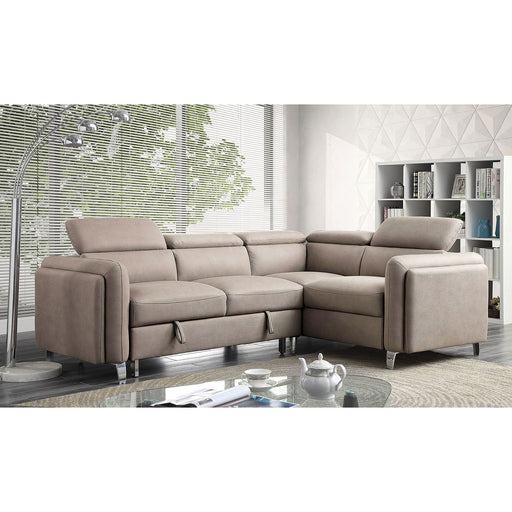 Verity Gray Sectional - Canales Furniture