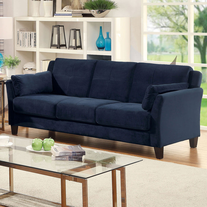 YSABEL Navy Sofa, Navy (K/D) - Canales Furniture