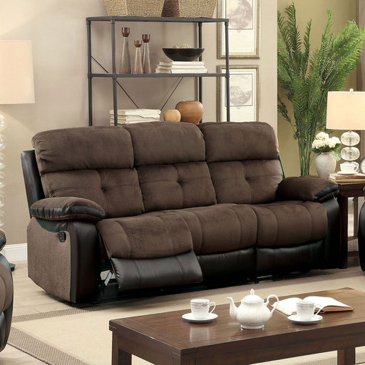 Hadley I Brown/Black Sofa - Canales Furniture