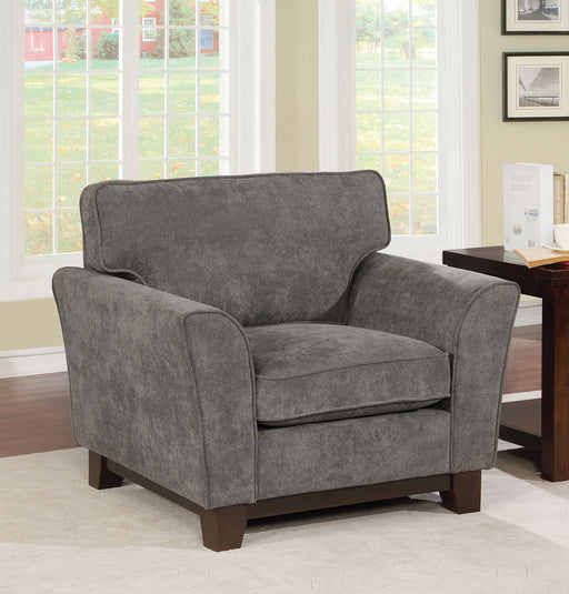 Caldicot Gray Chair - Canales Furniture