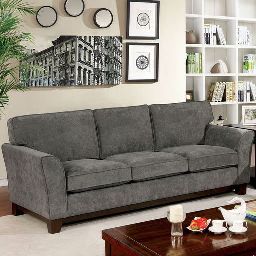 Caldicot Gray Sofa - Canales Furniture
