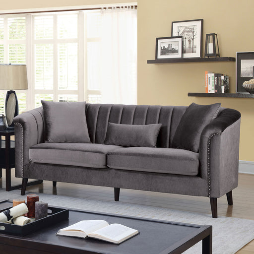 Dawn Gray Sofa - Canales Furniture