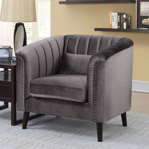 Dawn Gray Chair - Canales Furniture