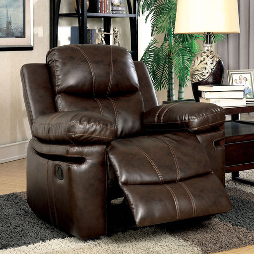 Listowel Brown Chair - Canales Furniture