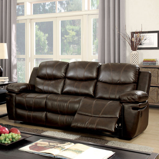 Listowel Brown Sofa - Canales Furniture
