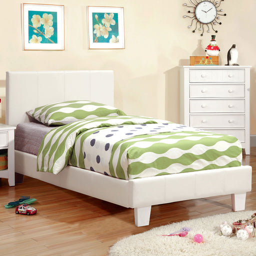 Winn Park White Twin Bed - Canales Furniture