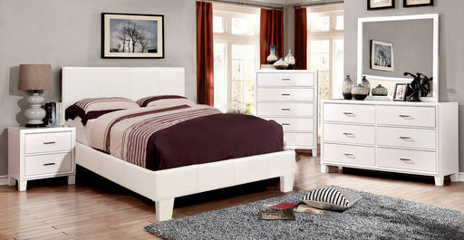 Winn Park White 5 Pc. Queen Bedroom Set w/ 2NS - Canales Furniture