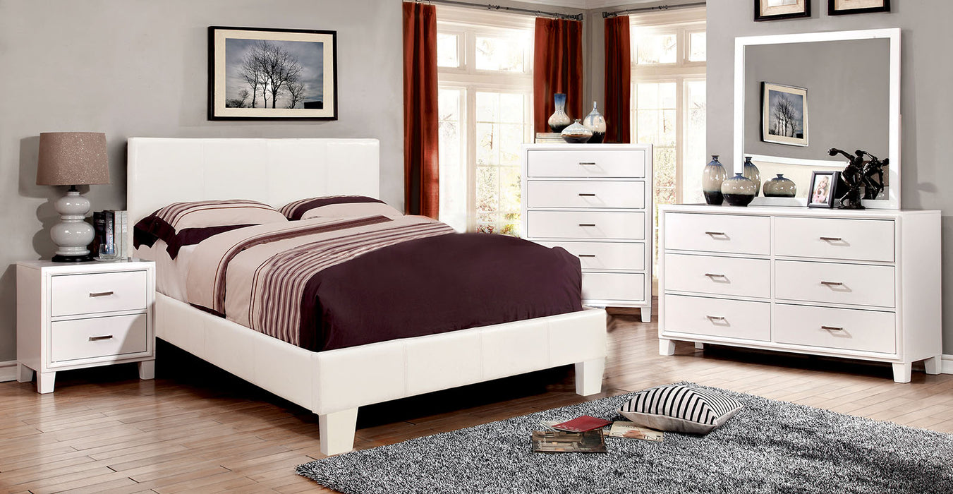 Winn Park White 4 Pc. Twin Bedroom Set - Canales Furniture