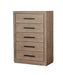 Oakburn Light Gray, Chest - Canales Furniture