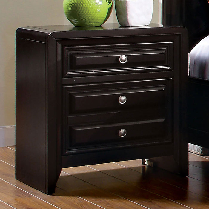 Yorkville Espresso Night Stand - Canales Furniture