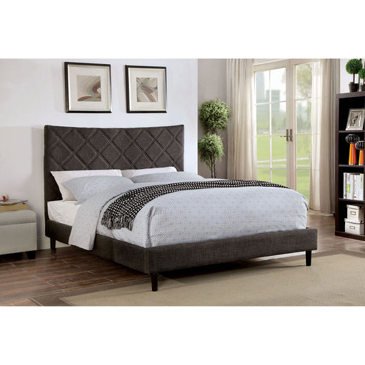 Estarra Gray Cal.King Bed - Canales Furniture