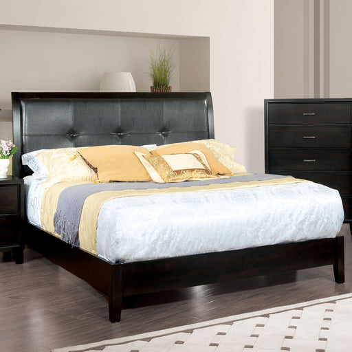 Enrico I Espresso Queen Bed - Canales Furniture