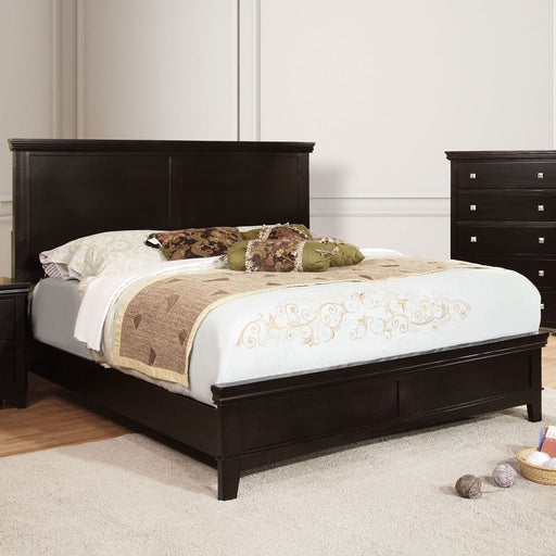 Spruce Espresso Queen Bed - Canales Furniture