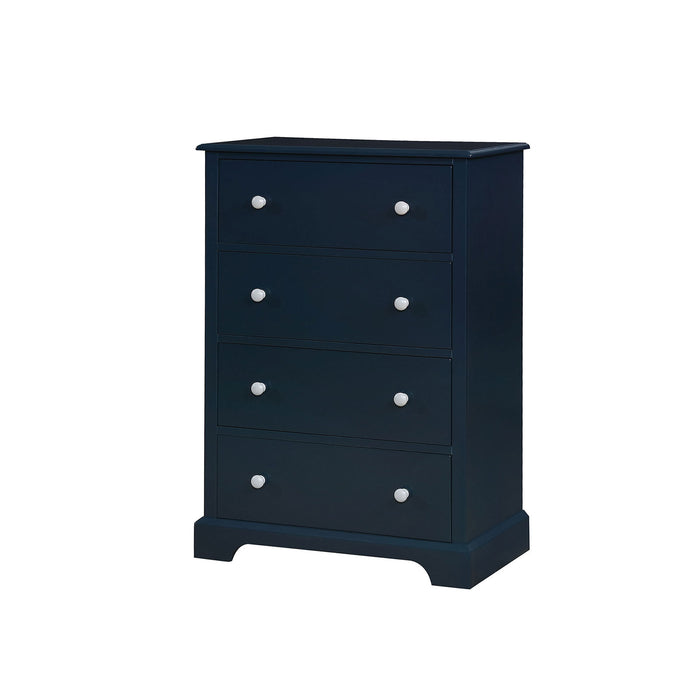 Diane Blue/Gray Chest - Canales Furniture
