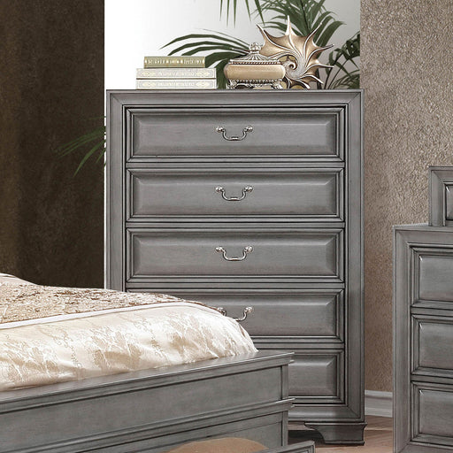 Brandt Gray Chest - Canales Furniture