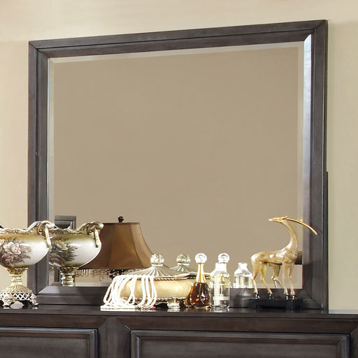 BRADLEY Dark Gray Mirror - Canales Furniture