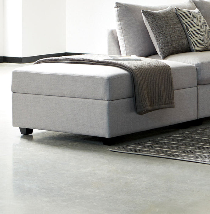Charlotte Ottoman - Canales Furniture
