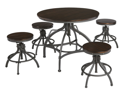 Odium Signature Design Dining Table Set - Canales Furniture