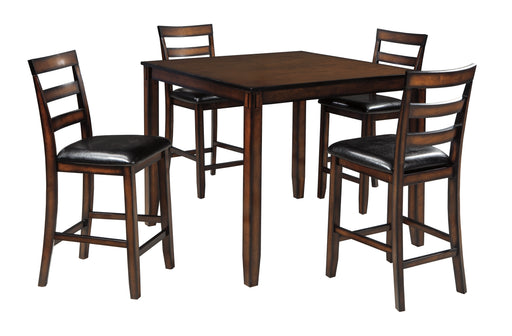 Coviar Counter Table Set (5/CN) - Canales Furniture