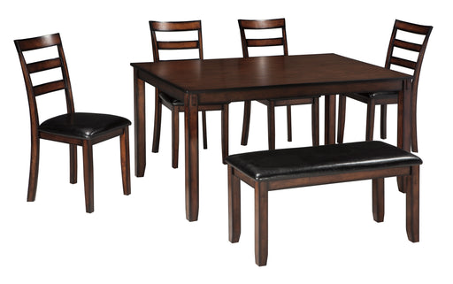 Coviar Dining Room Table Set (6/CN) - Canales Furniture