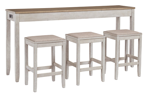 Skempton Counter 4PC Dining Set - Canales Furniture