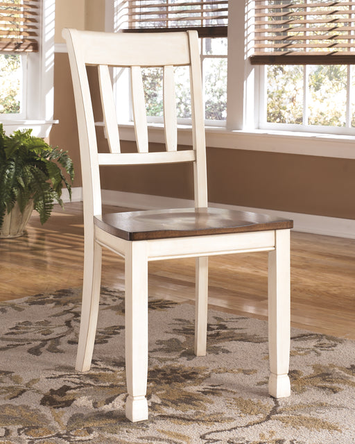 Whitesburg Signature Design by Ashley Dining Chair - Canales Furniture
