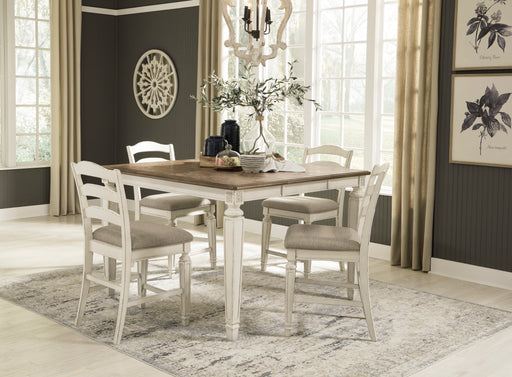 Realyn Counter Height Dining Room Set - Canales Furniture