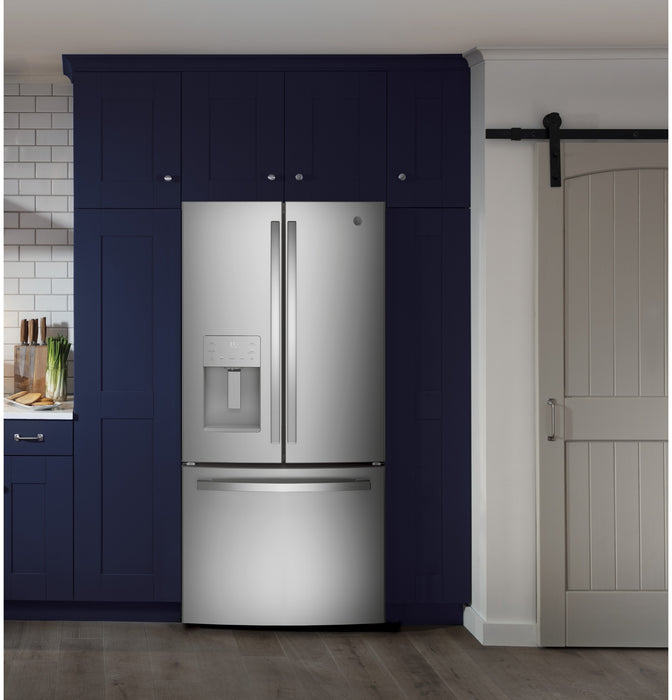 GE® 25.1 Cu. Ft. Side-By-Side Refrigerator - Canales Furniture