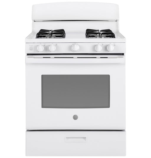 "GE® 30"" Free-Standing Gas Range - Canales Furniture"